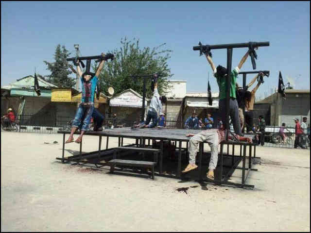 christians-crucified-syria